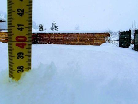 Live: dikke sneeuwdump in Oostenrijk – 31 dec. 2018