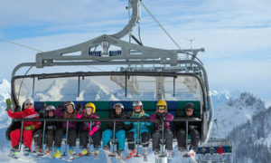 Komende winter nieuwe lift en pistes in skigebied Almenwelt Lofer