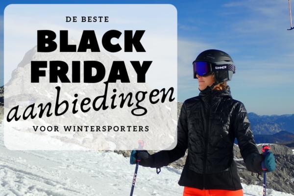 Black Friday aanbiedingen waar je als wintersporter blij van wordt