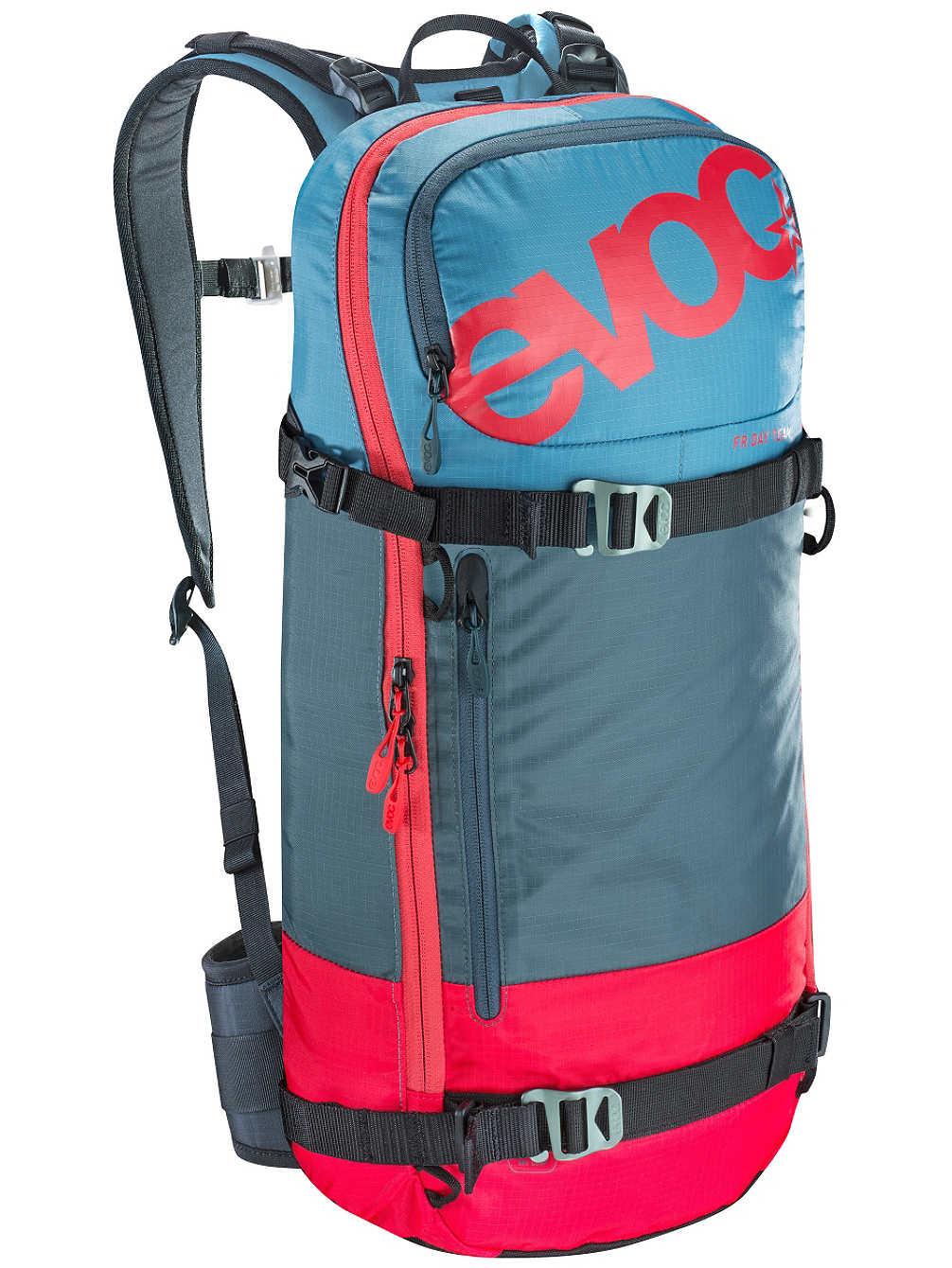 Kleine, extra lichte dag rugzak met geïntegreerde beschermer. Rugbeschermer snowboard