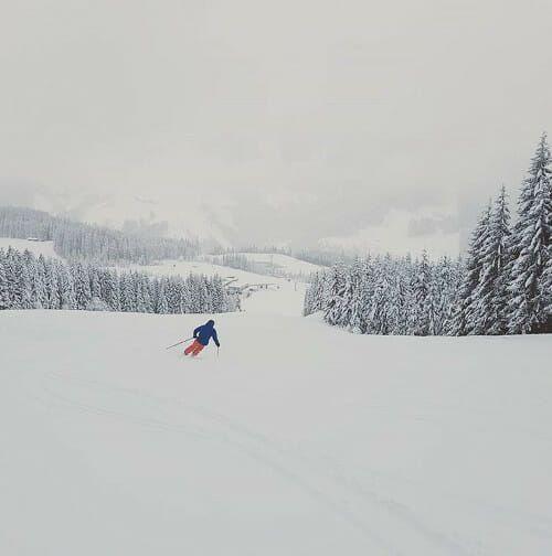 Foto Friday #18 - sneeuw, sneeuw, sneeuw en.... lege pistes