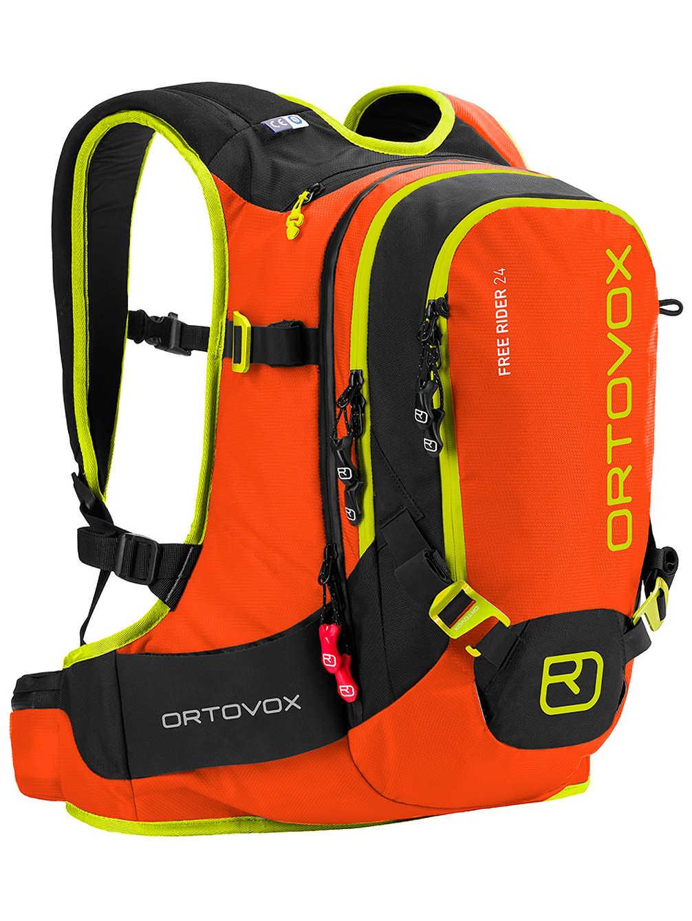 Backprtotector Ski - rugzakem Ortovox