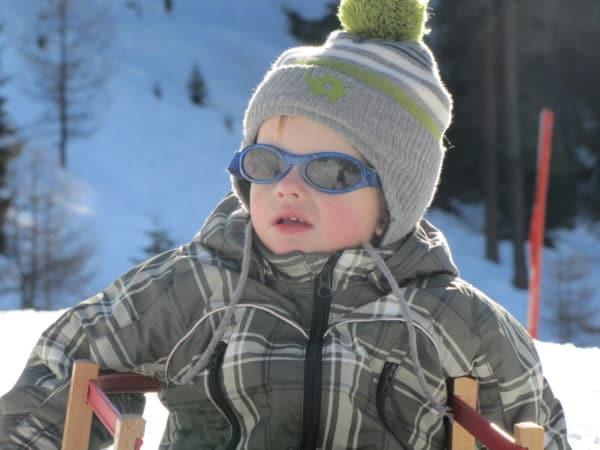 wintersport zonnebril baby