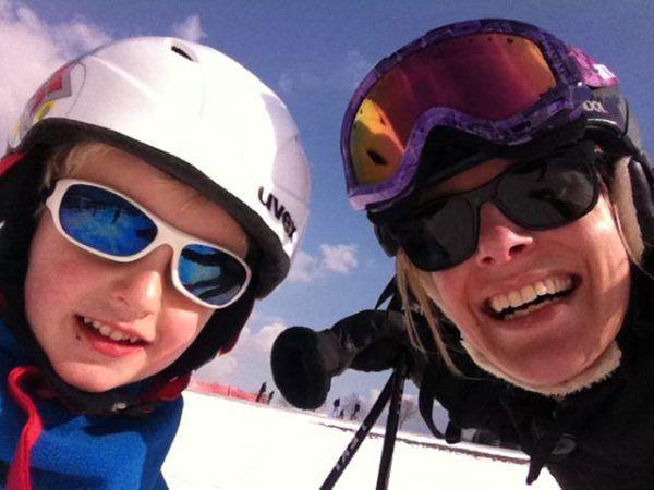 ski zonnebril wintersport