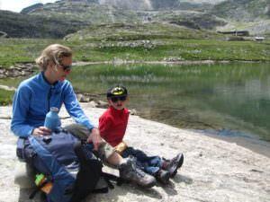 zomer in de bergen