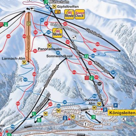 Konigsleiten - zillertal - nieuwe lift