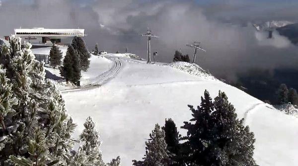 Sneeuw in Mayrhofen