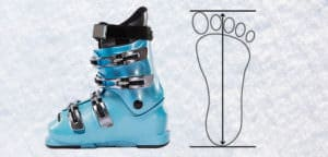 Mondopoint skischoenen maat bepalen