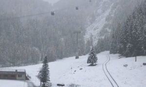 Live: het sneeuwt in Oostenrijk – winterbeelden 27 okt. 2018