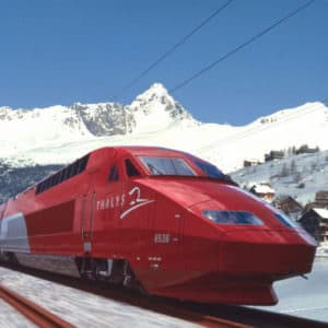 SkiThalys: de skitrein naar Frankrijk. Wintersport met de trein naar Frankrijk