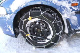 Sneeuwkettingen verplicht in Oostenrijk