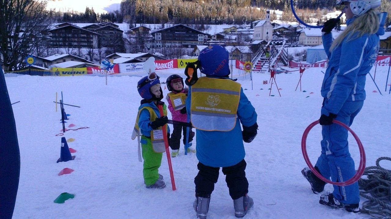 Wintersport met kinderen - bestemming - plezier