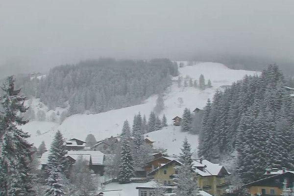 Live sneeuw in Oostenrijk - Filzmoos