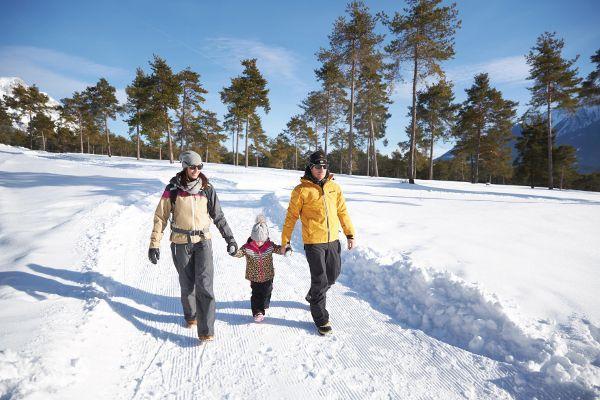 Winterwandelen met kinderen