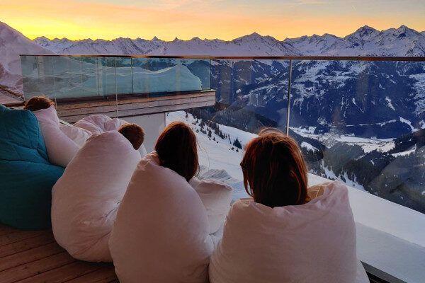 Een heerlijke ontspannen avond (Foto: Alpex skireizen)