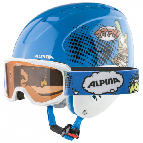 SKihelm kind - Alpina Grap