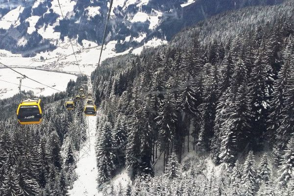 Skilift in Mayrhofen