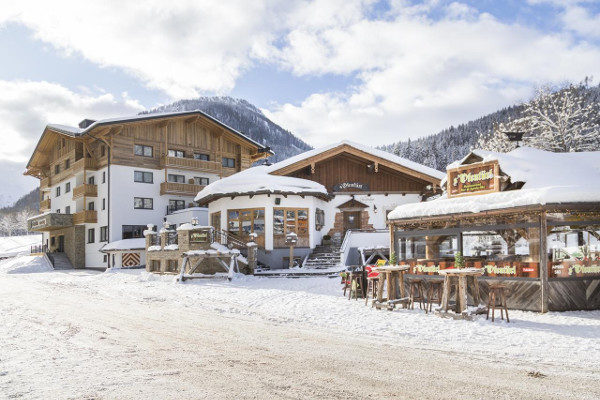 Appartementen aan de piste in Flachau