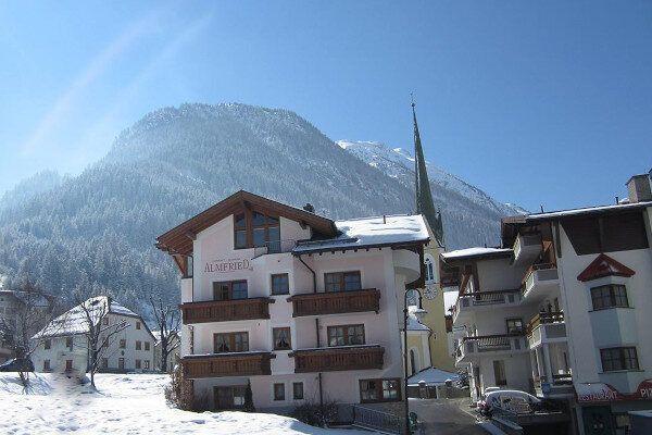 Appartement Almfried in het centrum van Ischgl.
