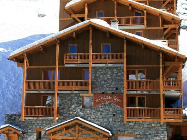 top appartementen val thorens - #4 chalet des neiges