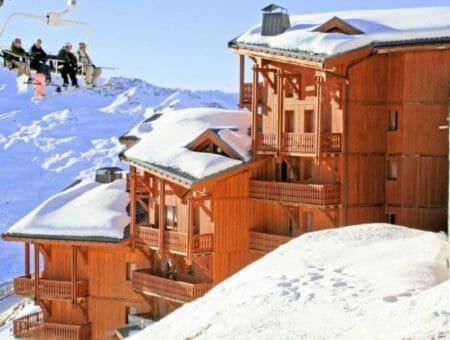 Accommodatie Inspiratie: appartement Val Thorens – Top 5