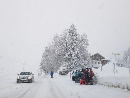 Livebeelden: het sneeuwt in Oostenrijk. 2,6 meter sneeuw onderweg (03 jan. 2019)