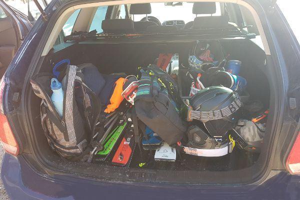 met de auto op wintersport naar Oostenrijk.