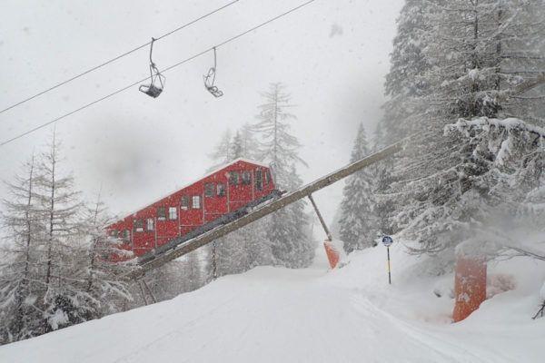 Skigebied bij Innsbruck - axamer lizums