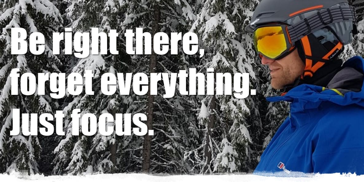 Beste skibril - ski quote about wintersport. Skiing quote