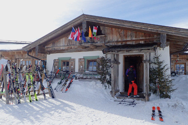 bergrestaurant in maria alm