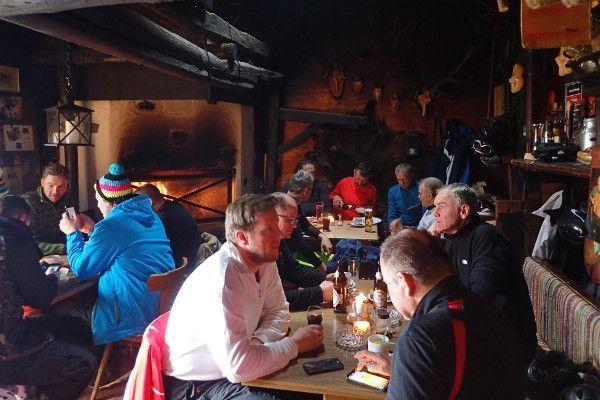 Bergrestaurant skigebied Saalbach