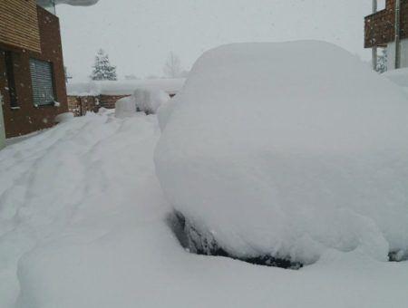 Nu al meer sneeuw dan normaal in de hele maand januari