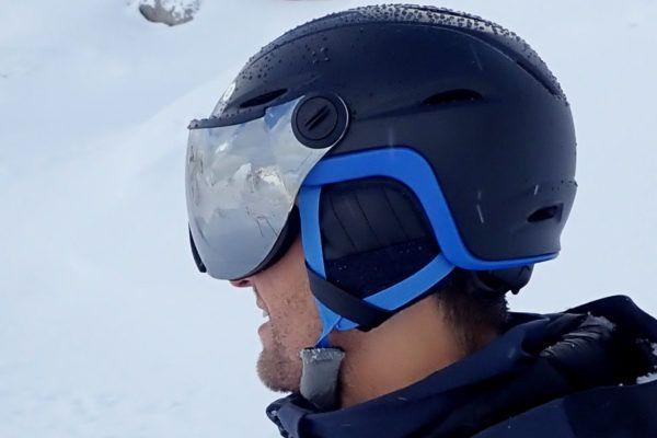 beste skihelm met vizier