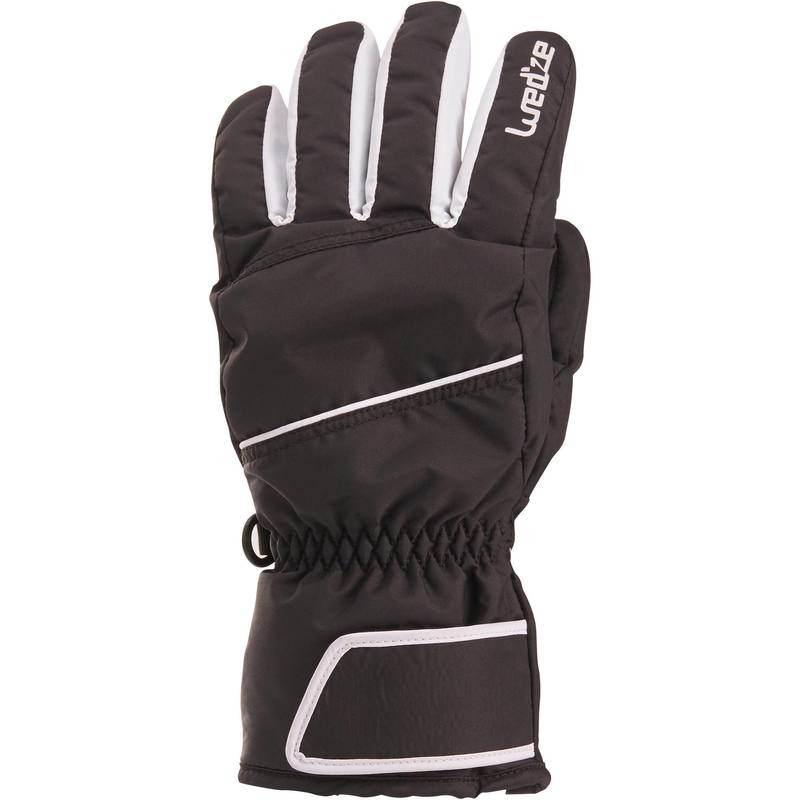 kinder ski handschoen - jongen zwart