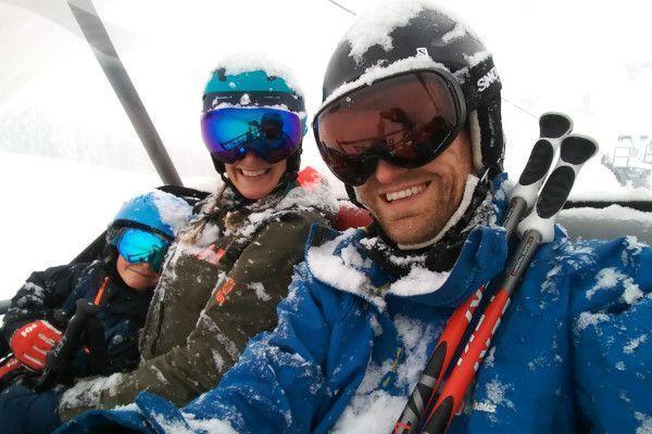 Blij in de skilift met sinner nauders skibril voor dames en heren