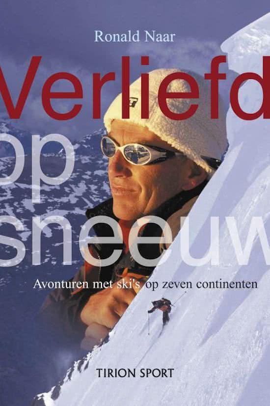 Boek over wintersport - Ronald Naar - Verliefd op Sneew