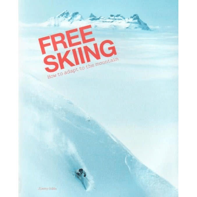 ski boek: free skiing Jimmy Oden