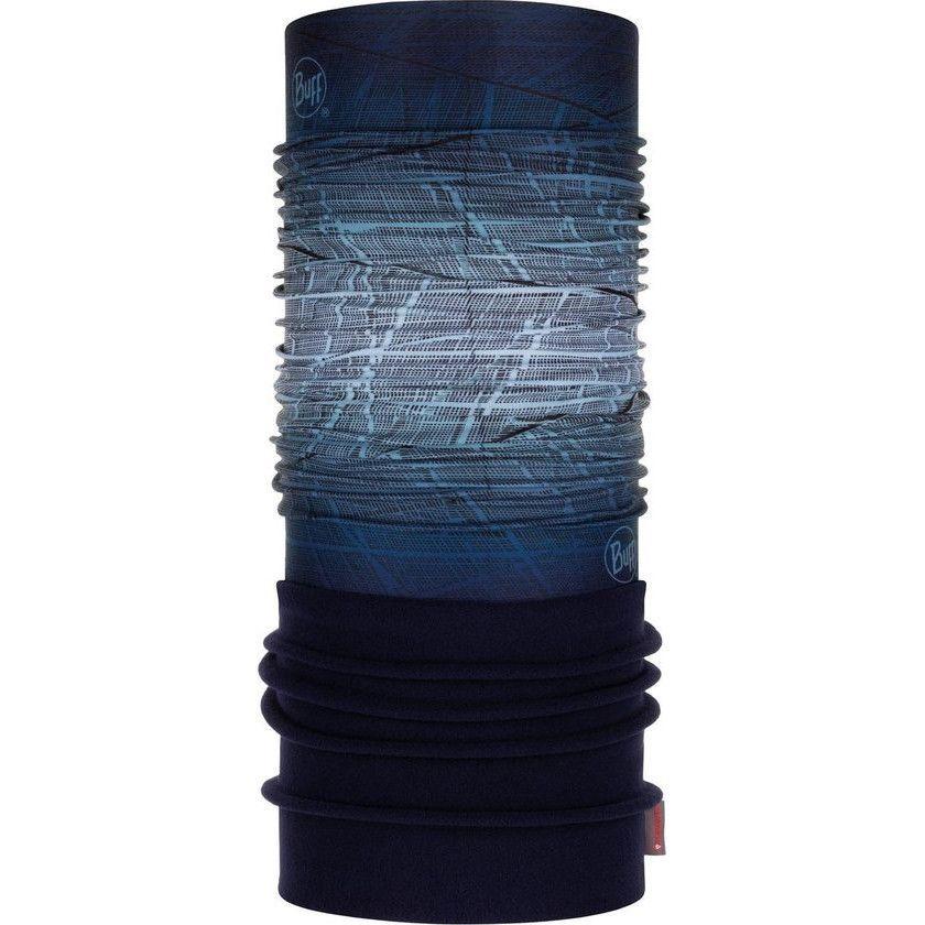blauwe nekwarmer