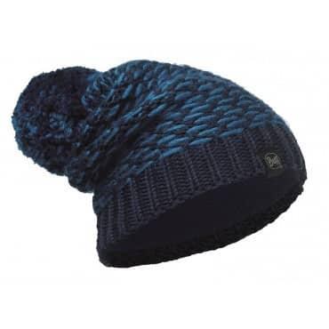 Gebreide muts - blauw