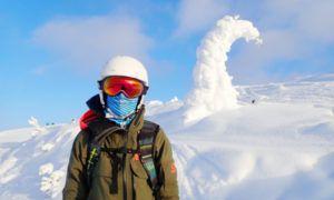 Een buff of nekwarmer is onmisbaar voor de wintersport
