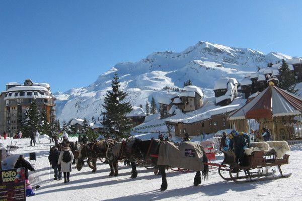 busreis Frankrijk - skigebied