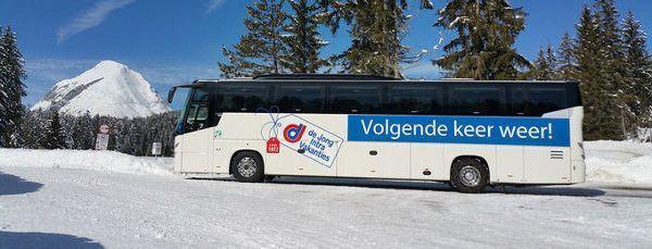 de bus naar Oostenrijk