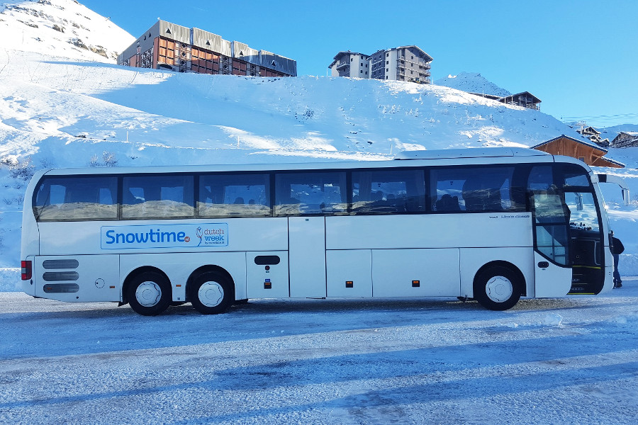 busreis snowtime
