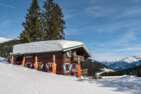 Chalet aan de piste in het Zillertal