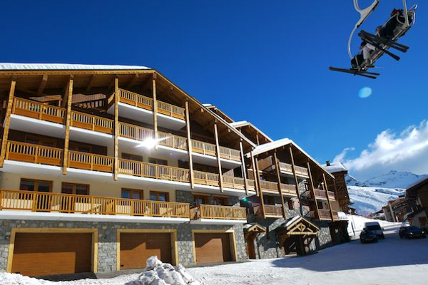 chalet les neiges is een appartement in val thorens centrum