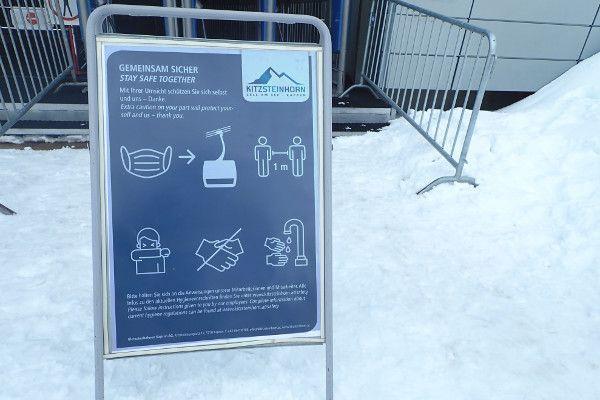 corona voorzorgsmaatregelen wintersport