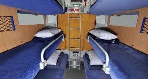 Couchette - trein naar Oostenrijk