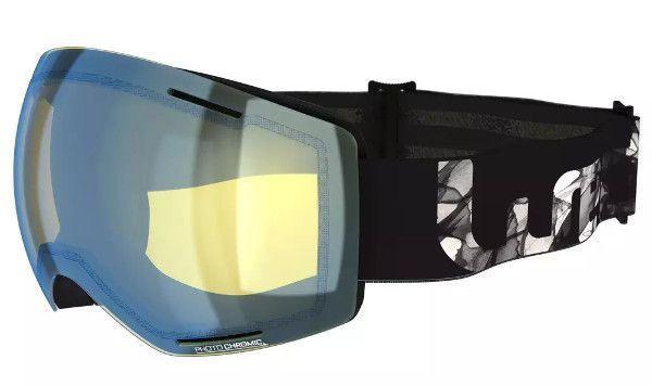 Decathlon skibril met meekleurende glazen