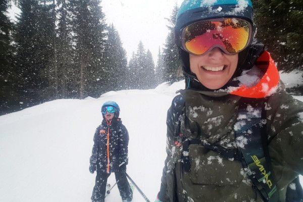 epische momenten op wintersport met kinderen