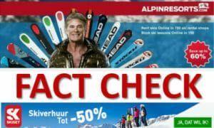 Fact Check Skiverhuur: hoeveel kan je werkelijke besparen als je online huurt?
